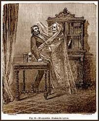 Pepper Ghost: Early Visual Media - Optical effects - theatre - Phantasmagoria - Victorian Tales Of Halloween, Ghost Shows, Jeepers Creepers, Penny Dreadful, Fright Night, Skull And Bones, Source Of Inspiration, Occult, Mythology