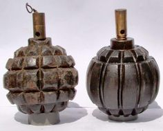 It's the only country that went into with a proper hand grenade, the.