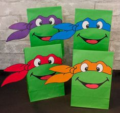 Teenage Mutant Ninja Turtles Party Favor by SammyPartyPrintables