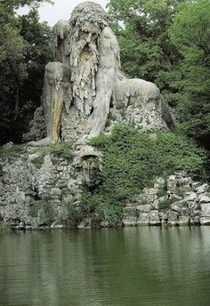 The Appennine Colossus, North of Florence, Italy