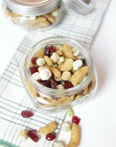 sweet and salty trail mix #snacks | The Lovely Cupboard