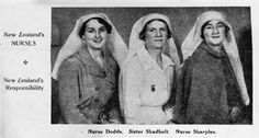Three New Zealand nurses who served with the republicans in the Spanish Civil War
