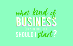 FREE WORKSHEET: Do you want to start a business or side hustle but dont know exactly what that would be? Let me help you figure it out!