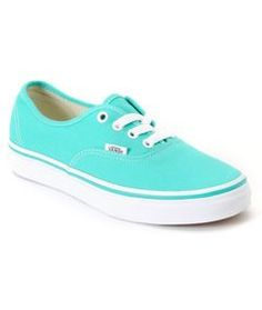 Tiffany Blue Vans. I'd totally wear these to my reception. No way I'm wearing uncomfortable heels all day.