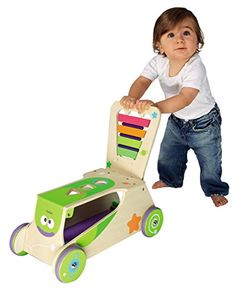 Amazon.com: Boikido Wooden 2-in-1 Walker/Ride-on: Toys & Games