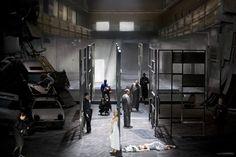 Staatsoper Berlin's Lulu. Production by Andrea Breth. Sets by Erich Wonder.