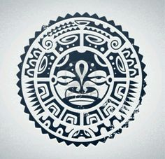 Polynesion Tattoo design.