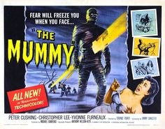 Image result for the mummy 1959 poster