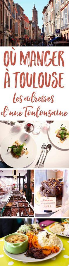 Vous prévoyez un petit weekend gourmand à Toulouse ? Ne manquez pas cette sélection de bonnes adresses partagées par une Toulousaine !