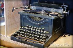 **Vintage & Deco 復古。飾**美國古董Smith&Corona打字機 [Stationery-0009] - 露天拍賣-台灣 NO.1 拍賣網站