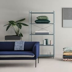 Ferm Living Hexagon vase, grey | Ferm Living Hexagon | Vases | Decoration | Finnish Design Shop