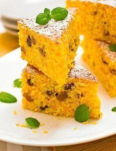 Quick Recipes, Sweet Recipes, Cake Recipes, Dessert Recipes, Cooking Recipes, Fitness Cake, Mango Cake, Good Food, Yummy Food
