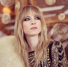Le nouveau projet de Marie-Mai Blond, Beauty Makeup, Hair Makeup, Glamour, Messy Hairstyles, Hair Goals, New Hair, Bangs, Style Me