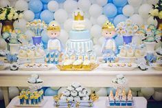 mesa de doces tema princesas - Buscar con Google