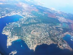 Blick auf Santa Ponsa, Mallorca im Südwesten !