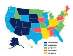 Which states have the most entrepreneurial spirit? #UT #Texas