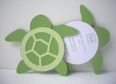 Custom Turtle Invitation Pack of 10 by bellybeancards on Etsy Turtle Birthday Parties, Turtle Party, 10th Birthday, Baby Birthday, Birthday Invitations, Birthday Cards, Baby Turtles, Sea Turtles, Under The Sea Party
