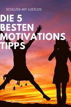 Morgens lustlos? Gibt's. Das darf aber nicht zum Dauerzustand werden. Wie Motivation im Alltag gelingt – die besten Tipps zur Selbstmotivation. Lustlosigkeit und das Gefühl, einfach nicht in die Gänge kommen zu können, beeinträchtigen den Alltag und wirken sich auf die Stimmung aus. Damit Demotivation und Antriebslosigkeit nicht der Verwirklichung der eigenen Träume im Weg stehen, gibt es eine Lösung: Selbstmotivation im Alltag. #motivation #tipps #glückshormone #schlussmitlustlos