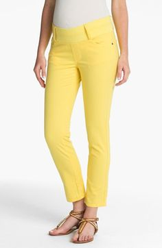 Maternal America Maternity Skinny Ankle Stretch Jeans available at #Nordstrom