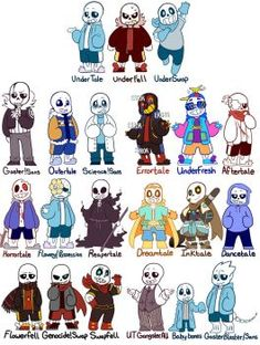 I wouldn't be surprised if someone made a pokemon game with all the diferent sans or papyrus versions with the Regular, Underfell, and Underswap ones being the starters! Undertale Comic, Undertale Undertale, Frisk, Underswap, Fandoms, Fan Art, Monster, Cartoon, Drawings