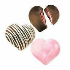 Deep Heart Truffle Chocolate Candy Molds