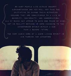 Into The Wild Quotes Into The Wild A Sad Dramatic True Story Everyone Should See Or .