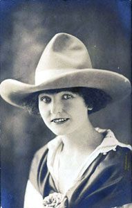 Mabel Strickland - another beauty from the Wild West - love the hat.