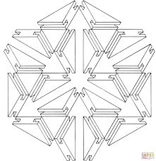 Optical Illusion 24 Coloring page | templates geo shapes | Pinterest ...