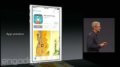 i know this is a zoomed in slide of an iphone 5s in Cook's keynote. But product design wise, it is actually quite a nice (and proportionately) design of a possible new ipad. thin borders housing. looks like a nice e-reader too.. is this a hidden teaser? yum yum...  Apple App Store getting developer bundles and video previews
