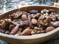 Dining with the Doc: Make Your Own Holiday Spiced Nuts