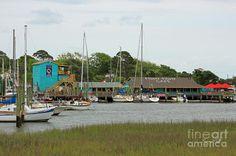 "Southport, NC - Fishy Fishy Café (a.k.a. Jack Porter's ""Stowaway"" on the pilot of the TV show ""Revenge"")"