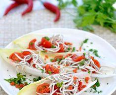 Cena ligera: una receta para cada día de la semana Tea Sandwiches, Caprese Salad, Spaghetti, Pasta, Chicken, Ethnic Recipes, Caviar, Food, Salads