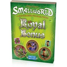 The Royal Bonus is a mini-expansion for Small World, which was previously available only to backers of the Small World 2 digital version of the game. The Royal Bonus includes: 3 new Race banners and tokens (Fauns, Igors & Shrubmen) and 3 new Special Power badges (Fireball, Aquatic & Behemoth). The Royal Bonus expansion requires a copy of the original Small World board game to play.[MORE]