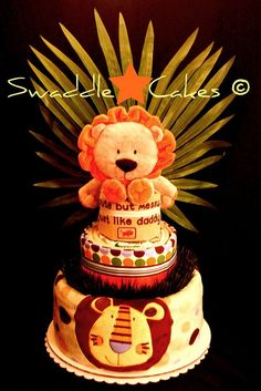king of the jungle cakes | King of the Jungle Diaper Cake | Flickr - Photo Sharing!