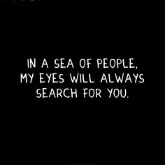 always search for you....