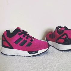 1df7bbb3bb Listed on Depop by kayleigh_liverpool. Adidas Torsion Trainers, Pink Uk ...