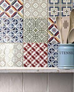 Ceramic wall #tiles COUNTRY by EQUIPE CERAMICAS @equipeceramicas