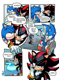 officialsonicfurry:  meronabar:  sonadow of archie comics style XD   OH MY GOODNESS