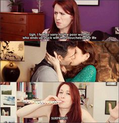 Lizzie Bennet diaries - Surprise!! I might be institutionalized if I were to admit how many times I watched episode 98...