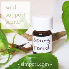 """Soul support scent """"Spring Forest"""" finally ready for release!   Simperi  #aromatherapy #natural #scent #fragrance #composition"""