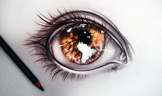 I see world in the fire by *ryky T