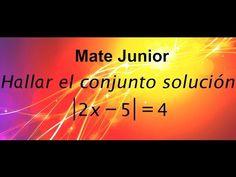 Como resolver ecuaciones con valor absoluto Suscribete a mi canal Matejunior para que este atentos a mas videos