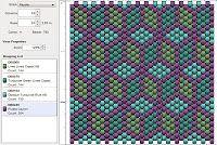Imaginesque: Beading: Peyote Stitch Pattern 9 (Tumbling Blocks)