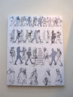 Rosie James  Stripey Strollers