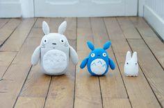 Totoro family (tournicote à cloche pied)