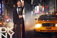 Rita Ora Headlines DKNY's Resort 2014 Campaign @Deena Korman pr girl