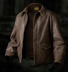 Indiana Jones Last Crusade/Crystal Scull Jacket.  My name is Peter Botwright of Wested Leather, in 1980 I was commissioned to design & make Harrison Ford's 'Indiana Jones' jacket for the film Raiders of the Lost Ark. The jacket passed through many stages of design, finally meeting the exact requirements of both the film's designers and Mr Harrison Ford Himself. With every replica leather jacket purchased directly from ourselves we will supply a Certificate of Authenticity and a 'SIGNATURE'…