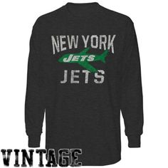 47 Brand New York Jets Scrum Long Sleeve T-Shirt - Charcoal (size d9c138f0f
