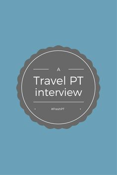 Curious about Travel PT? We asked a Cariant travel therapist about her experience and got her advice for other new therapists considering this career path. #TravelPT   Cariant