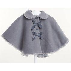 Baby/Infant Girls Spanish Romany Lace Trim Cape (DC1957) #Babylai